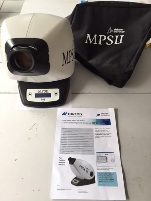 MPS II Macula Pigment Screener