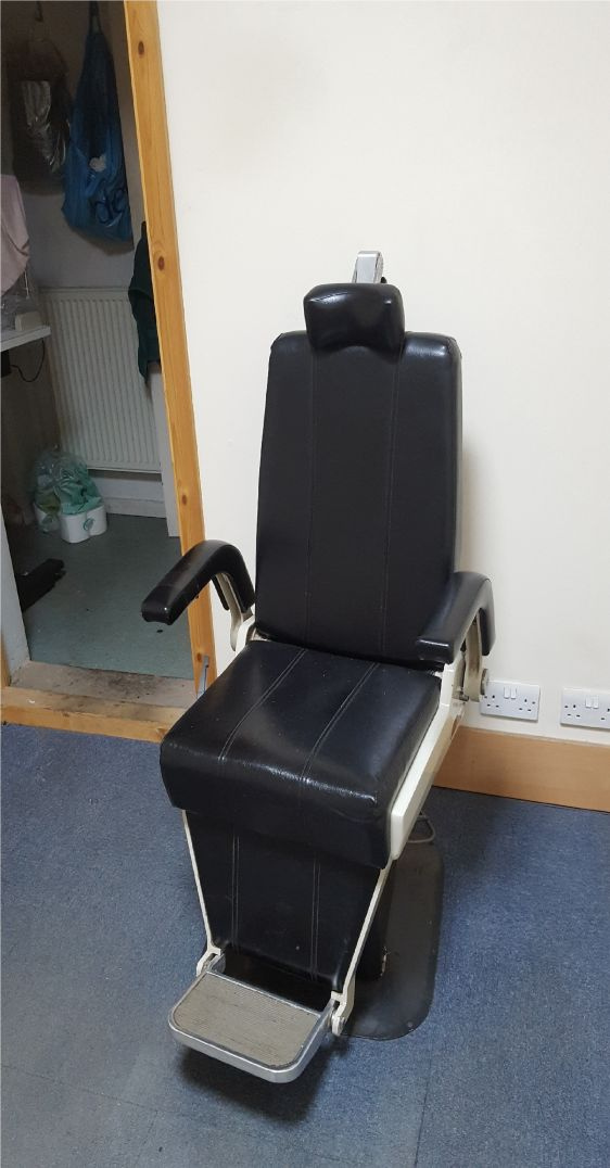 Optician's Test Chair - Used but fully functional