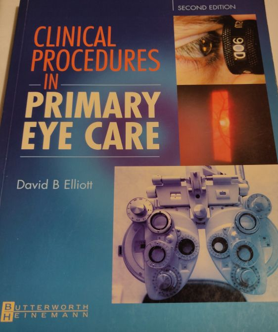 Clinical Procedures in Primary Eye Care Paperback