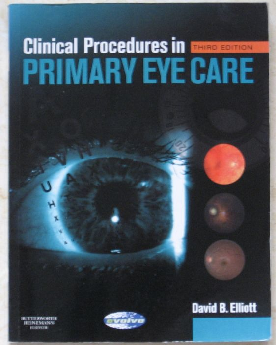 Clinical Procedures in Primary Eyecare 3rd Edition