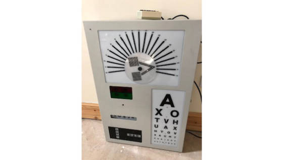 Snellen Test Chart Box