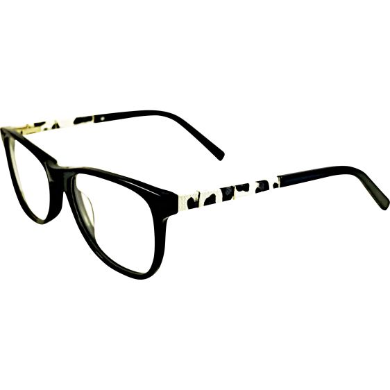 The Portobello Ladies Frames Black White 10 Pairs