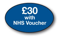 £30 with NHS voucher  /bx 250