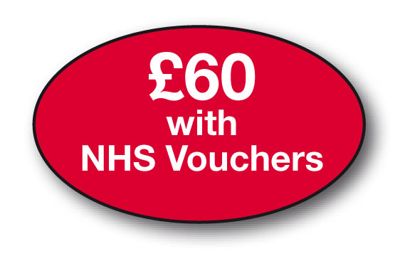 £60 with NHS Voucher bx/250