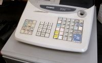 Casio TE 100 Cash Register