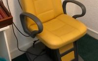 FISO Leather Electric Testing Chair