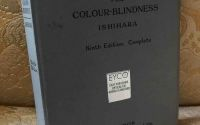 Ishihara Colour Blindness Test Book.