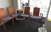 Waiting Area Chairs x 5