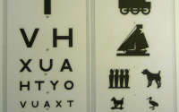 Snellen Chart 3m TVH/Child Pics