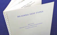 Near Vision 4 Page Reading Test