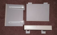 slat wall shelves x 15